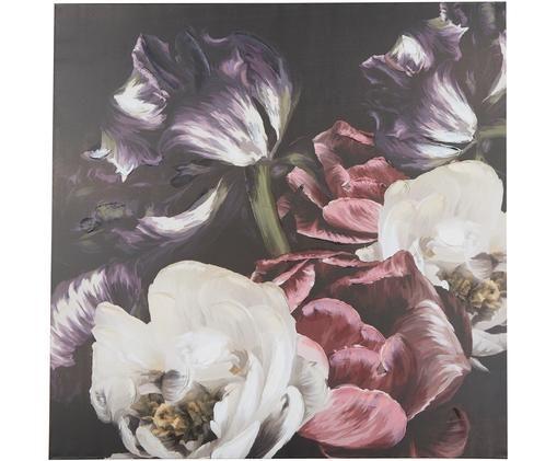 Stampa su tela Blume, Multicolore