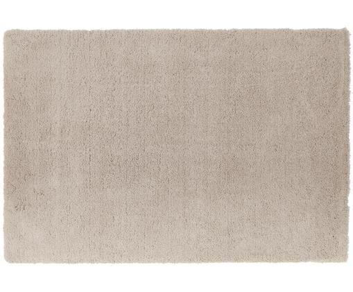 Načechraný koberec svysokým vlasem Leighton vbéžové barvě, Béžová