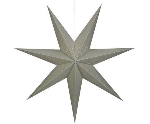 Gwiazda świąteczna Morris, Szary, matowy