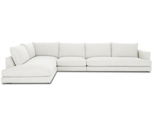 Sofa narożna XL Tribeca, Tapicerka: beżowy Nogi: czarny