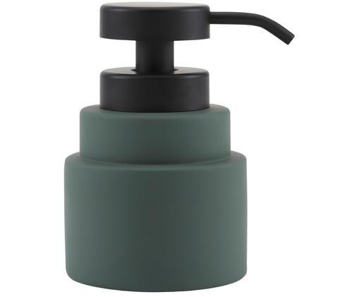 Zeepdispenser Shades, Groen, zwart