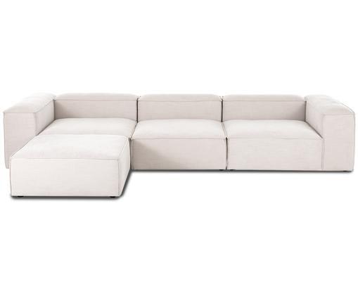 Canapé d'angle modulable Lennon, Beige