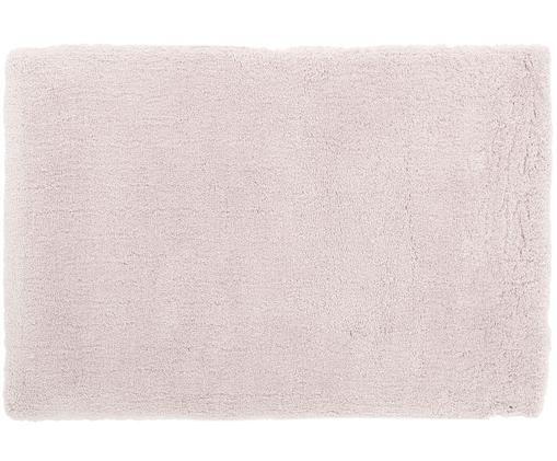 Pluizig hoogpolig vloerkleed Leighton in roze, Roze