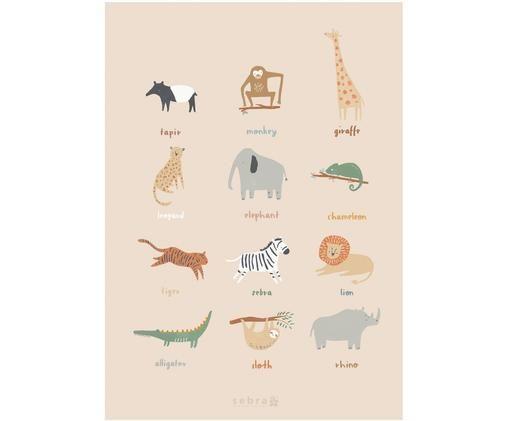 Plakát Wildlife, Více barev