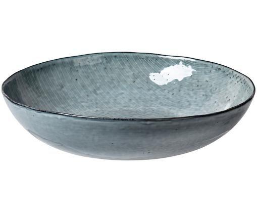 Saladier fait à la main Nordic Sea, Tons gris et bleus