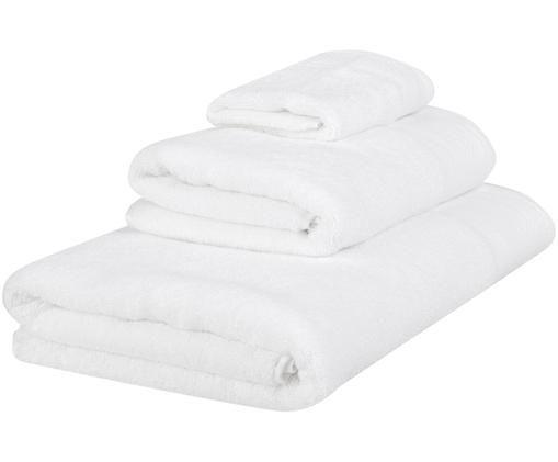 Handtuch-Set Premium, 3-tlg., Weiß