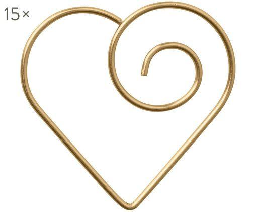 Büroklammern Herz, 15 Stück