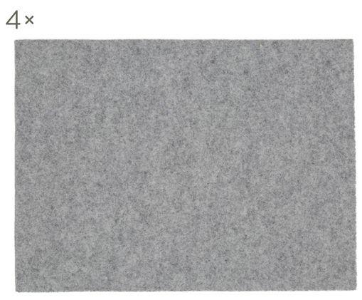 Wollfilz Tischsets Leandra, 4 Stück