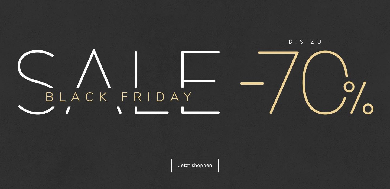Black Friday bis zu 70%