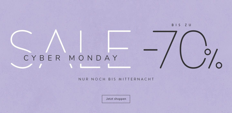 Cyber Monday Sale bis zu 70%