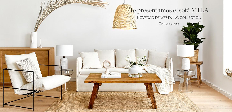 Te presentamos el sofá MILA. Novedad de Westwing Collection