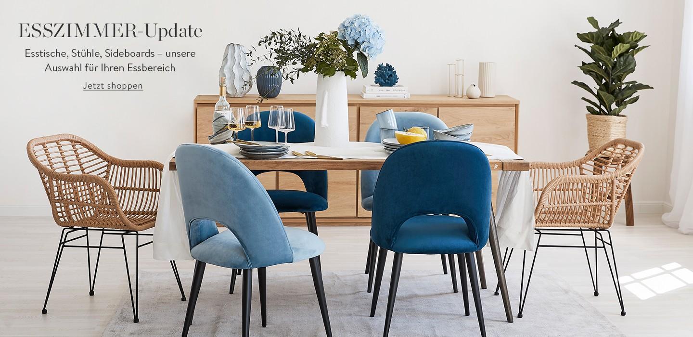Esszimmer-Update: Esstische, Stühle und Sideboards – unsere Auswahl für Ihren Essbereich