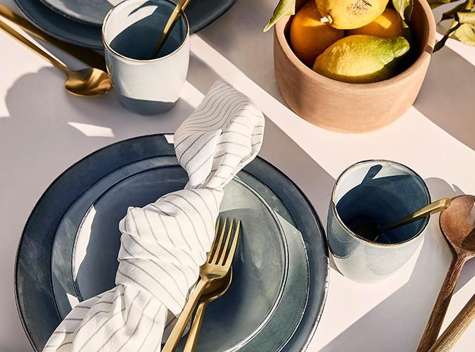 Jetzt eindecken – mit unserer Tableware!
