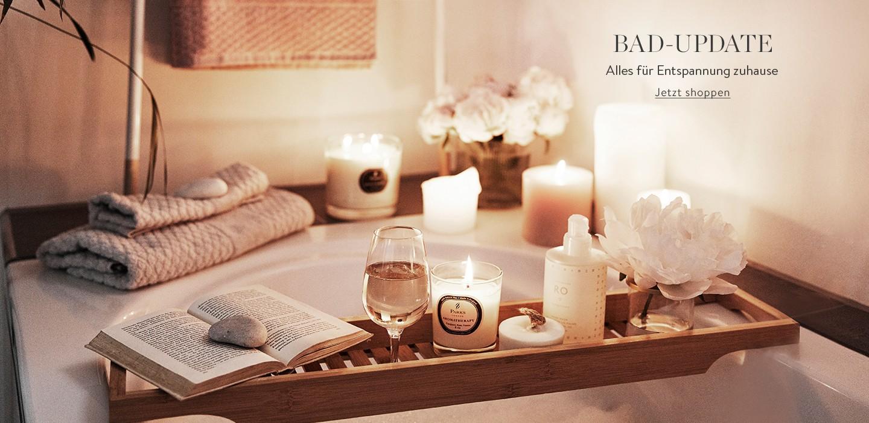 Bad-Update Alles für Entspannung Zuhause