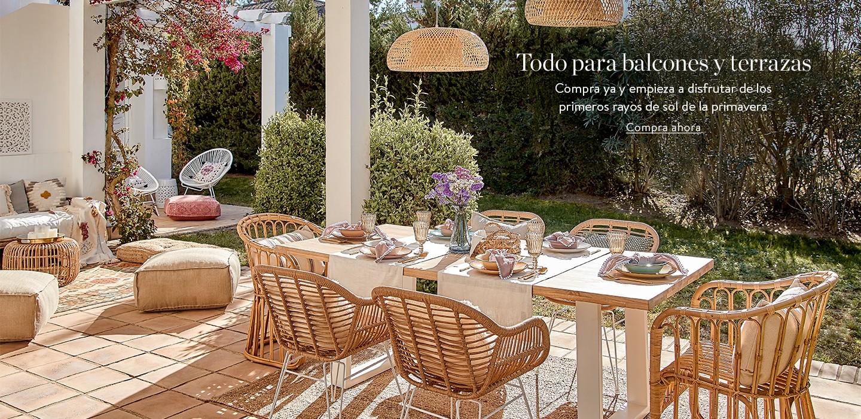 Todo para balcones y terrazas Compra ya y empieza a disfrutar de los primeros rayos de sol de la primavera!