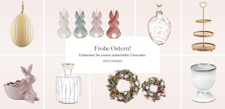 Frohe Ostern! Entdecken Sie unsere zauberhafte Deko für Ihr Osterfest