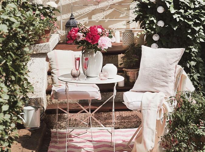 Venkovní nábytek pro slunečné dny