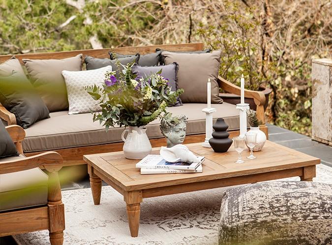 Outdoor meubels voor zonnige dagen
