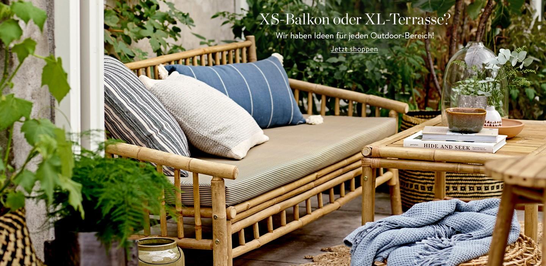 Mini-Balkon oder Maxi-Terrasse? Wir haben Ideen für wirklich jeden Outdoor-Bereich!