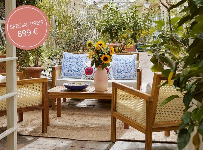 Let's Lounge: Unser Outdoor-Set Vie