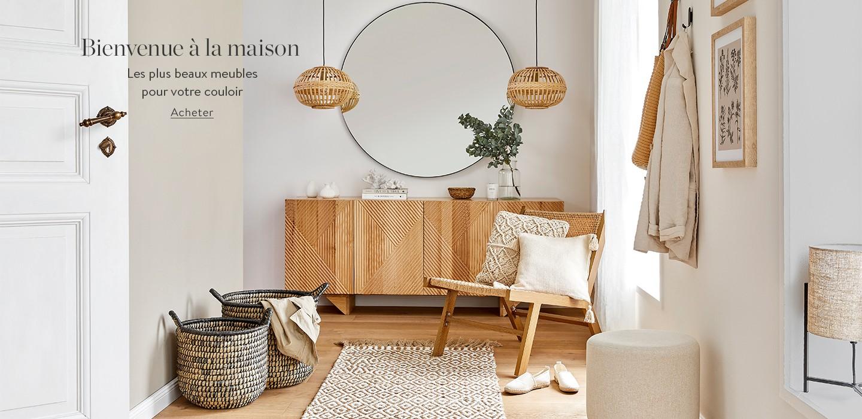 Bienvenue à la maison  Les plus beaux meubles pour votre couloir