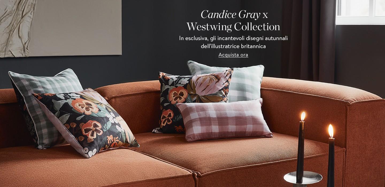 Candice Gray x Westwing Collection In esclusiva, gli incantevoli disegni autunnali dell'illustratrice britannica