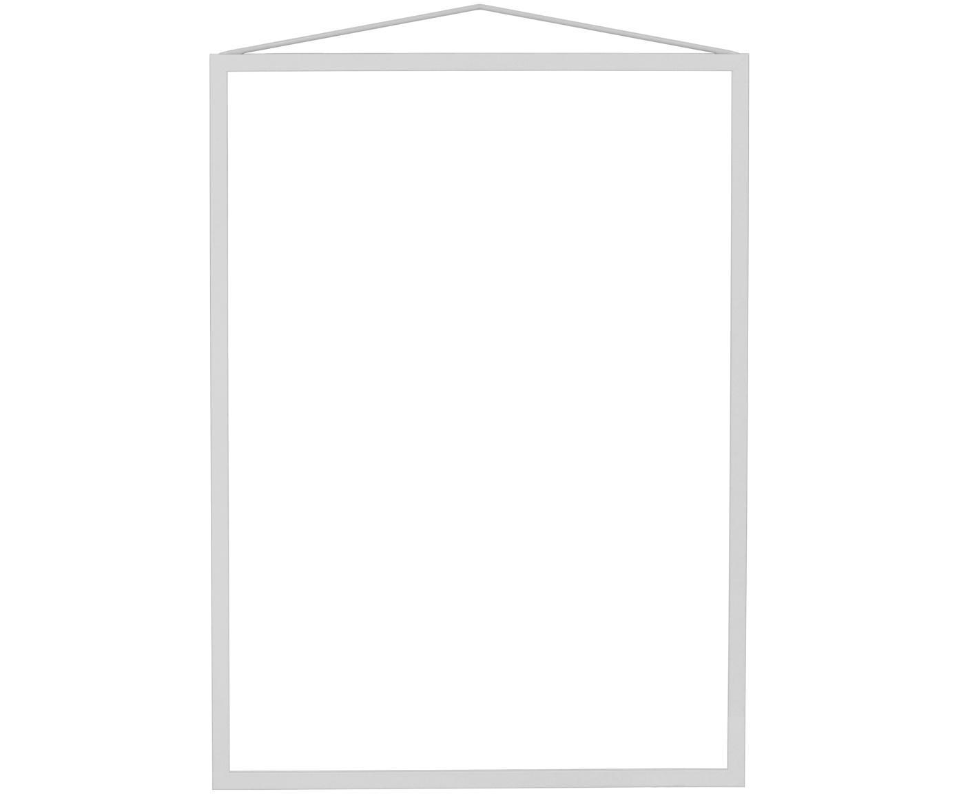 Cornice Colour Frame, Cornice: acciaio, verniciato a pol, Grigio, 30 x 42 cm