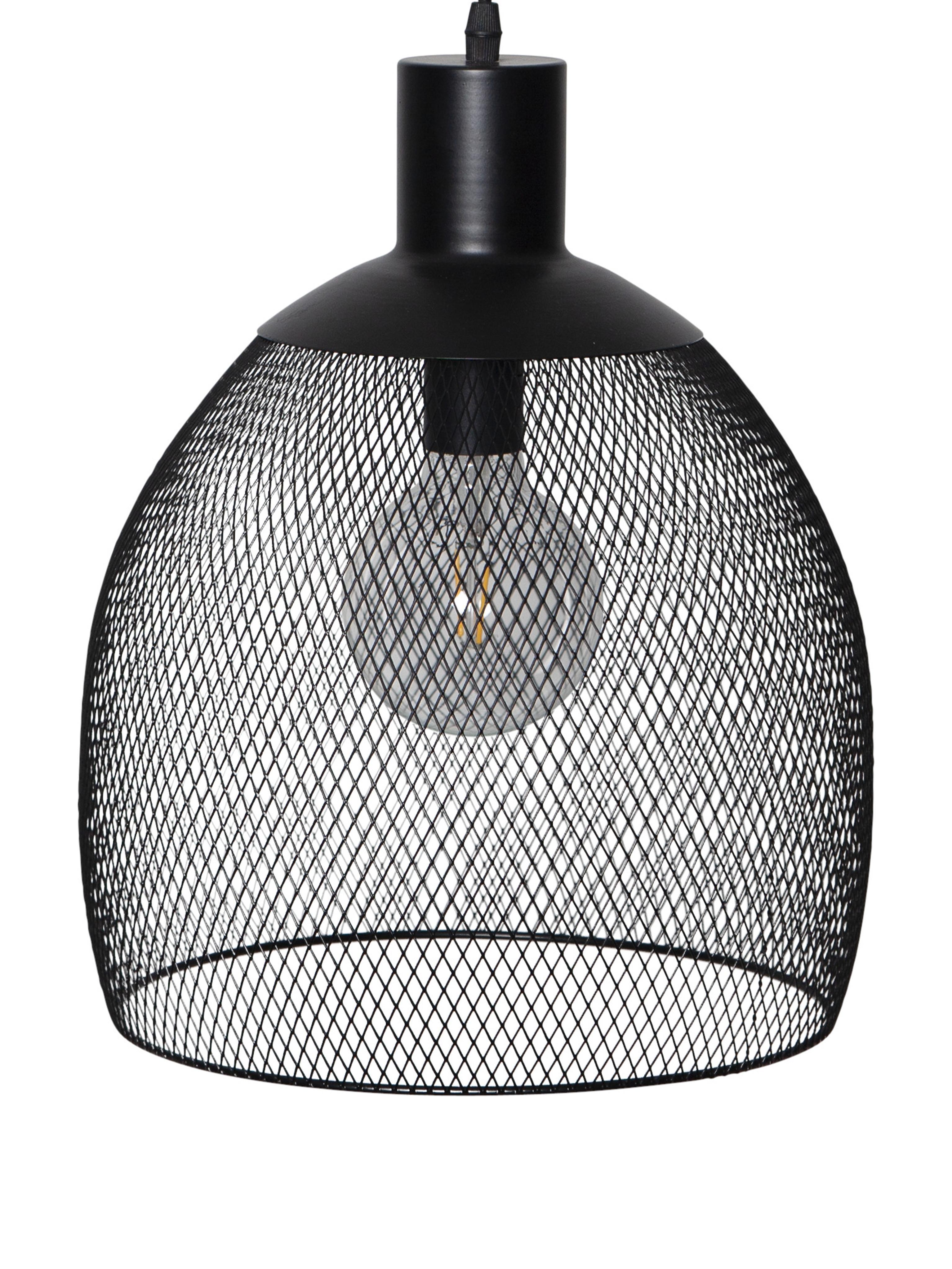 Lámpara solar LED Sunlight, Negro, Ø 29 x Al 35 cm