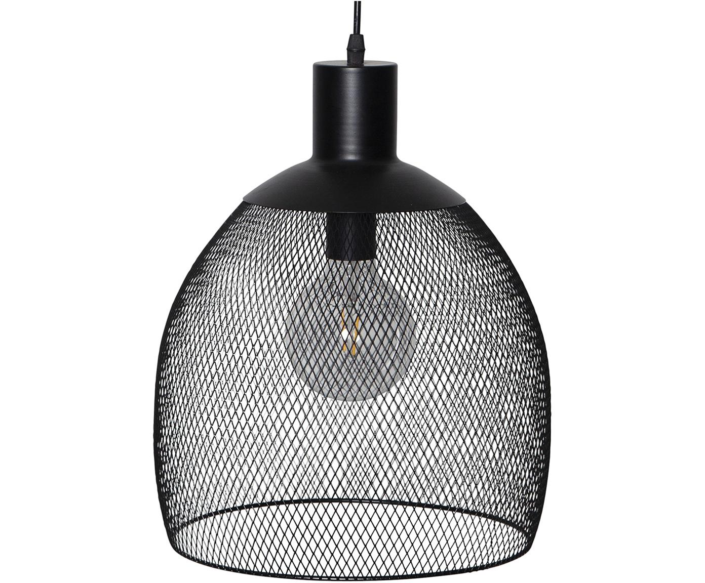 Solar outdoor LED lamp Sunlight, Metall, Kunststoff, Zwart, Ø 29 x H 35 cm