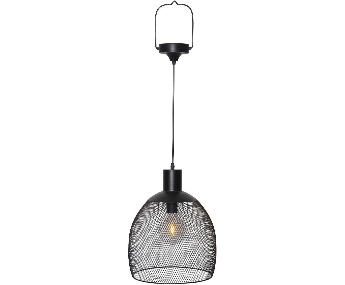 Zewnętrzna lampa solarna LED Sunlight, Czarny, Ø 29 x W 35 cm