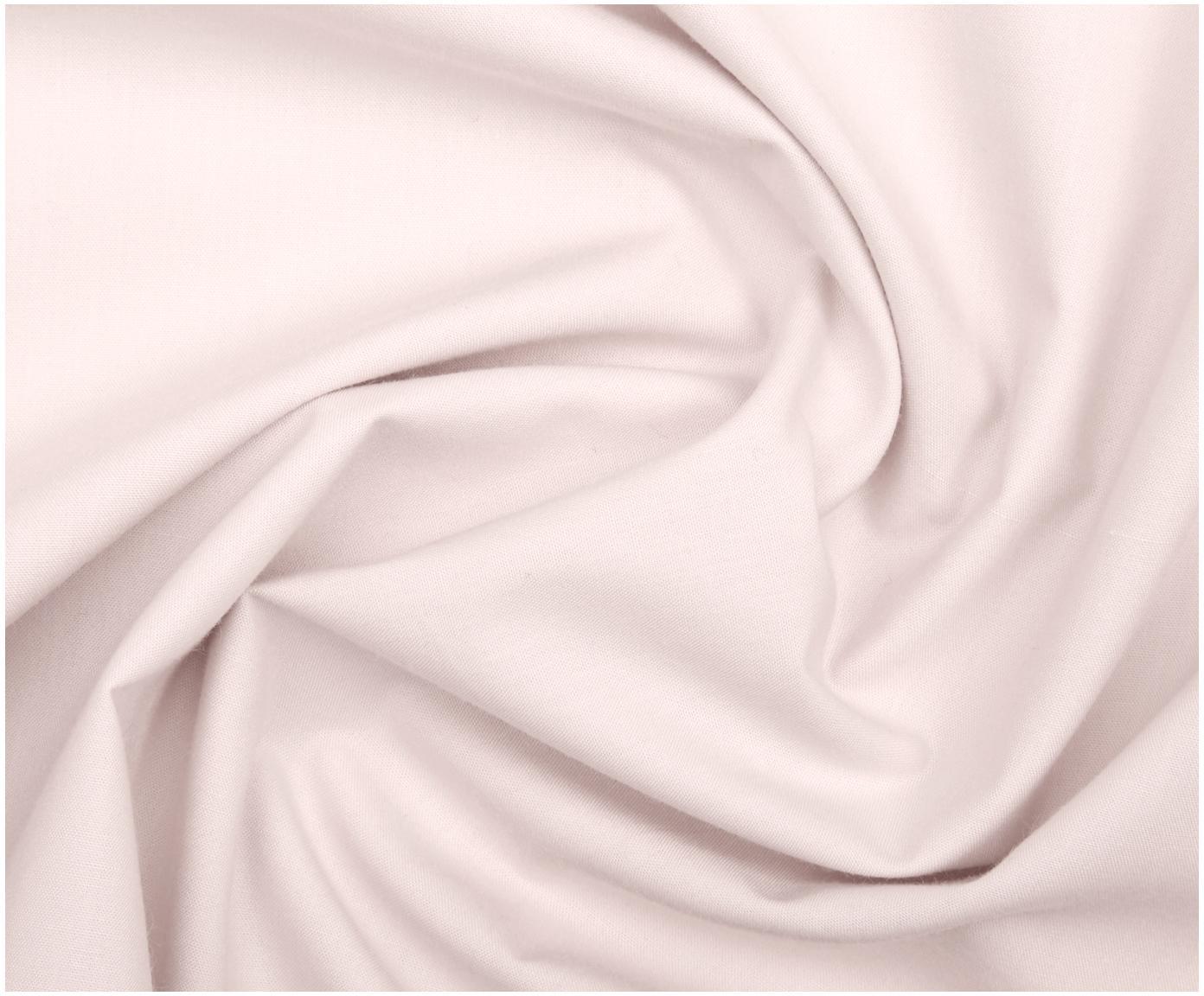 Pościel z perkalu Elsie, Blady różowy, 135 x 200 cm