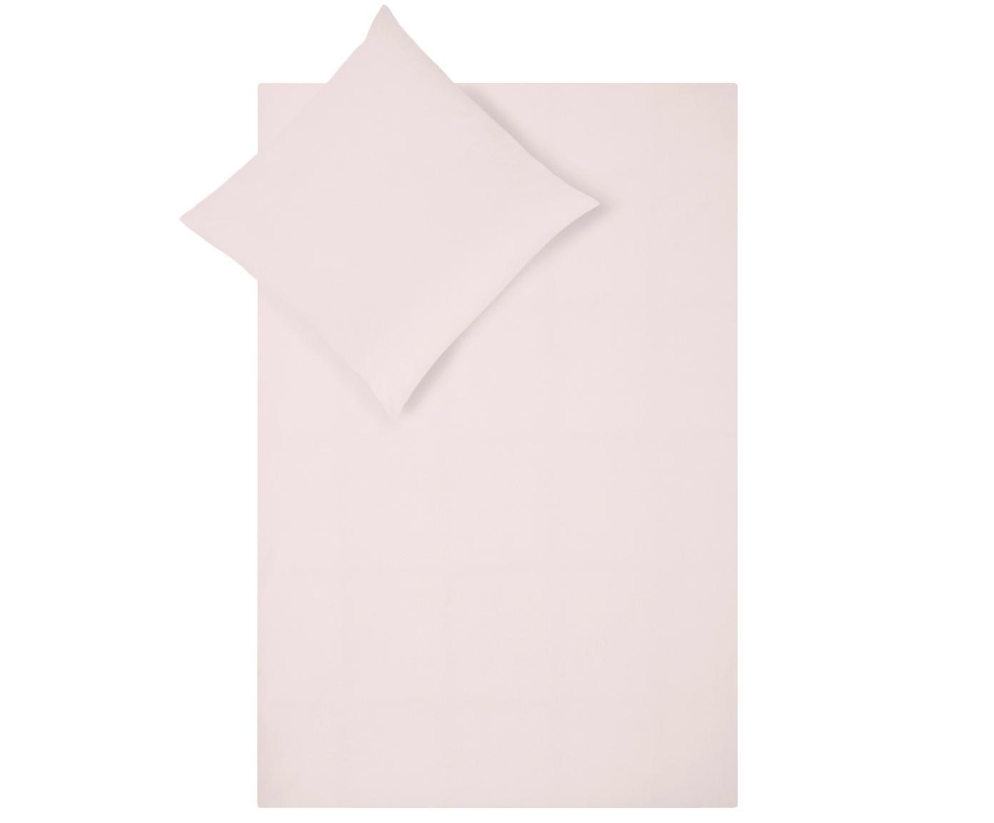 Baumwollperkal-Bettwäsche Elsie in Rosa, Webart: Perkal Fadendichte 200 TC, Rosa, 135 x 200 cm + 1 Kissen 80 x 80 cm