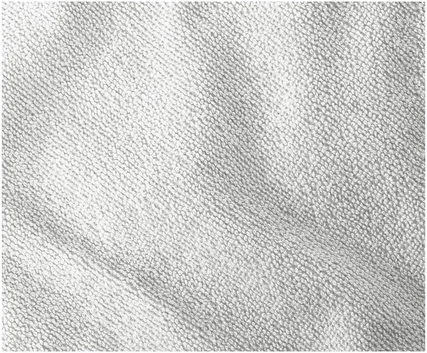 Handtuch Premium in verschiedenen Grössen, mit klassischer Zierbordüre, Hellgrau, XS Gästehandtuch