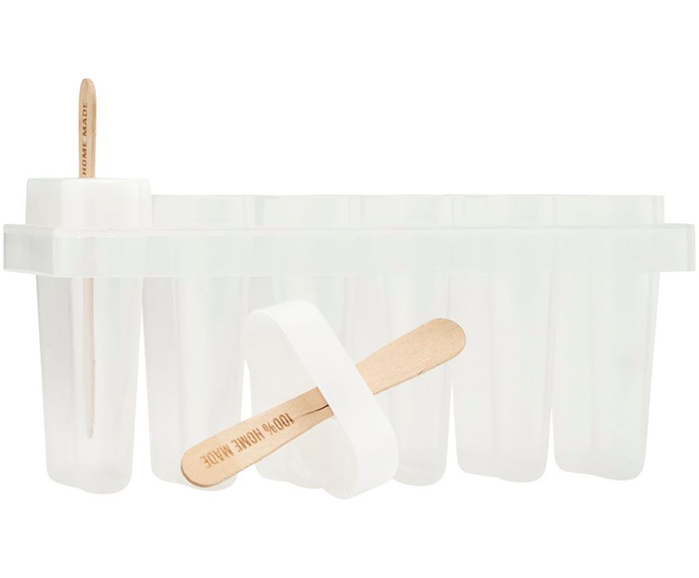Eisform-Set Ice Cream, 101-tlg., Transparent, Holz, Sondergrößen