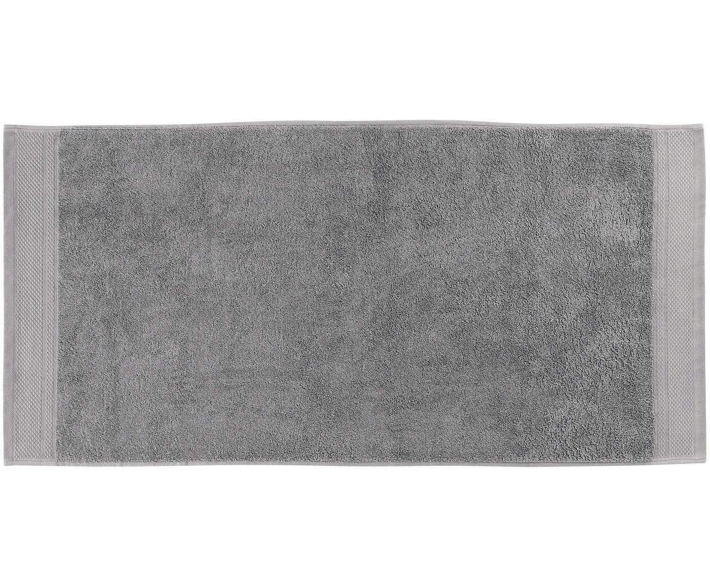Komplet ręczników Premium, 3 elem., 100% bawełna, wysoka jakość 600 g/m², Ciemny szary, Różne rozmiary