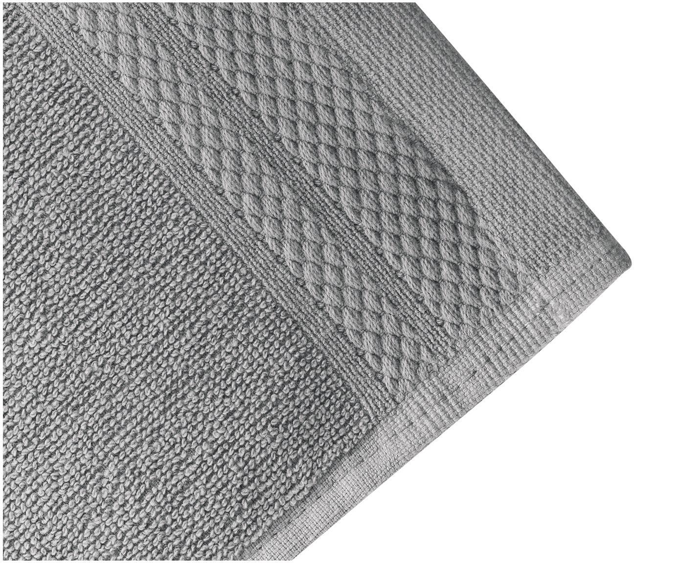 Handdoekenset Premium, 3-delig, 100% katoen, zware kwaliteit, 600 g/m², Donkergrijs, Verschillende formaten