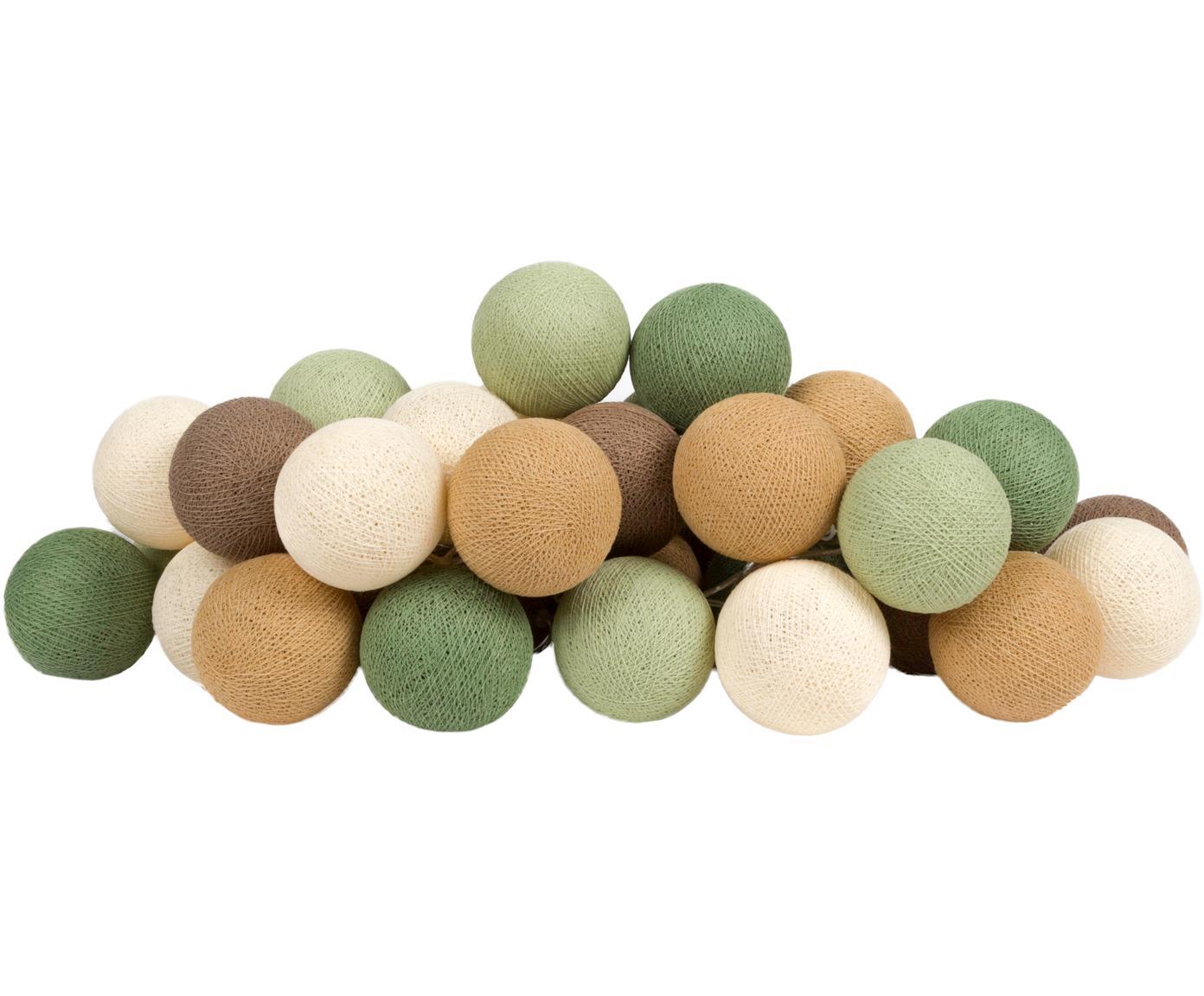Girlanda świetlna LED Colorain, Odcienie zielonego, odcienie brązowego, biały, D 264