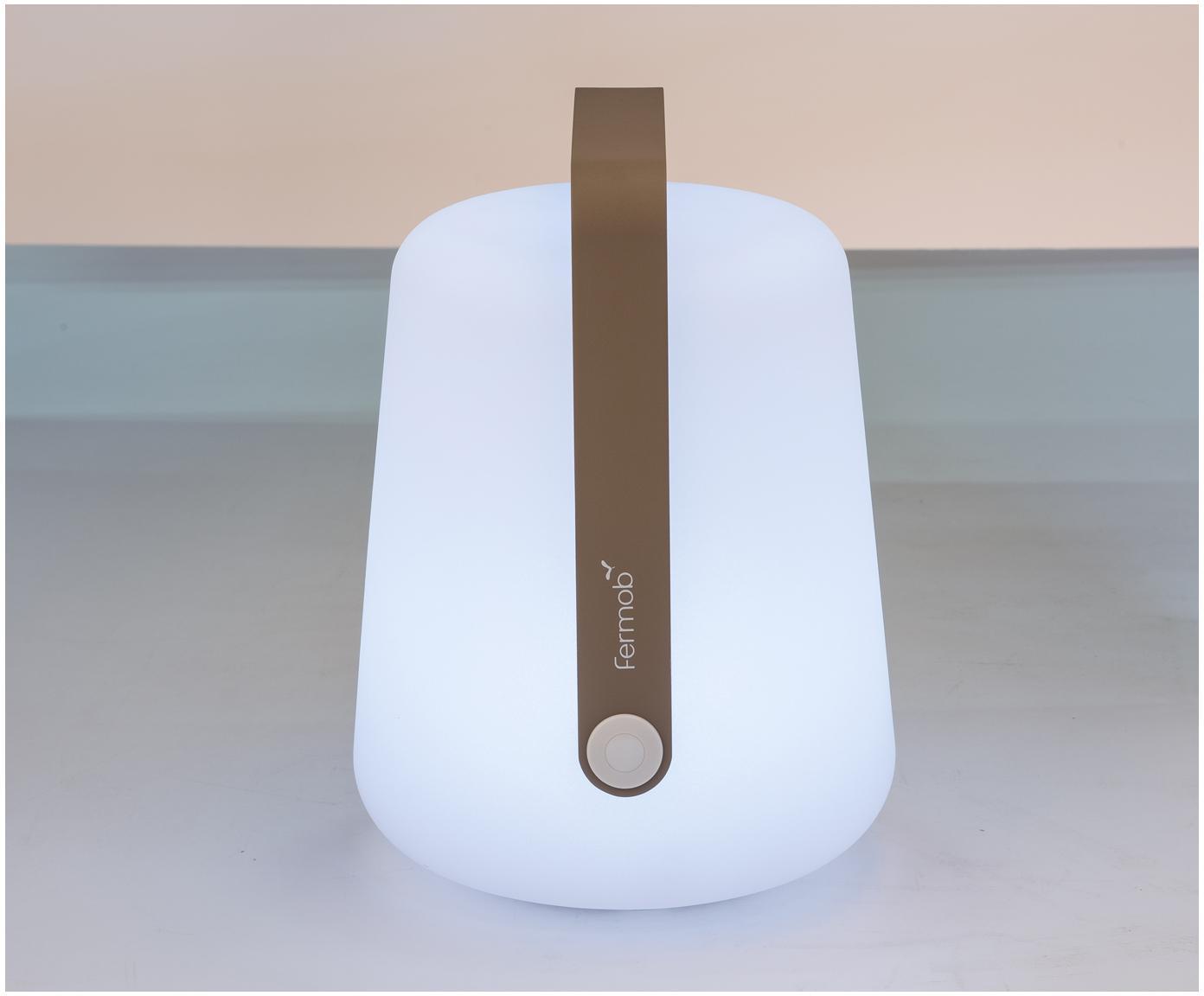 Zewnętrzna mobilna lampa LED Balad, Gałka muszkatołowa, Ø 19 x W 25 cm