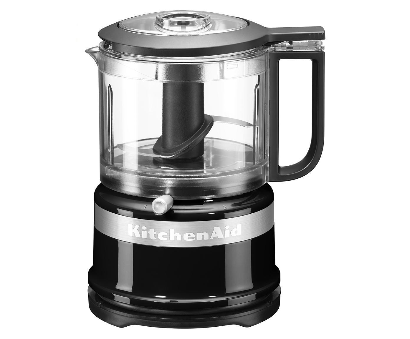 Mixer-Mini food processor KitchenAid Mini, Nero, Larg. 18 x Alt. 22 cm