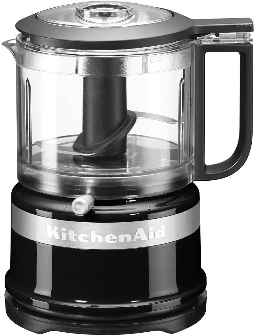 Food Processor KitchenAid Mini, Gehäuse: Kunststoff., Schwarz, 18 x 22 cm