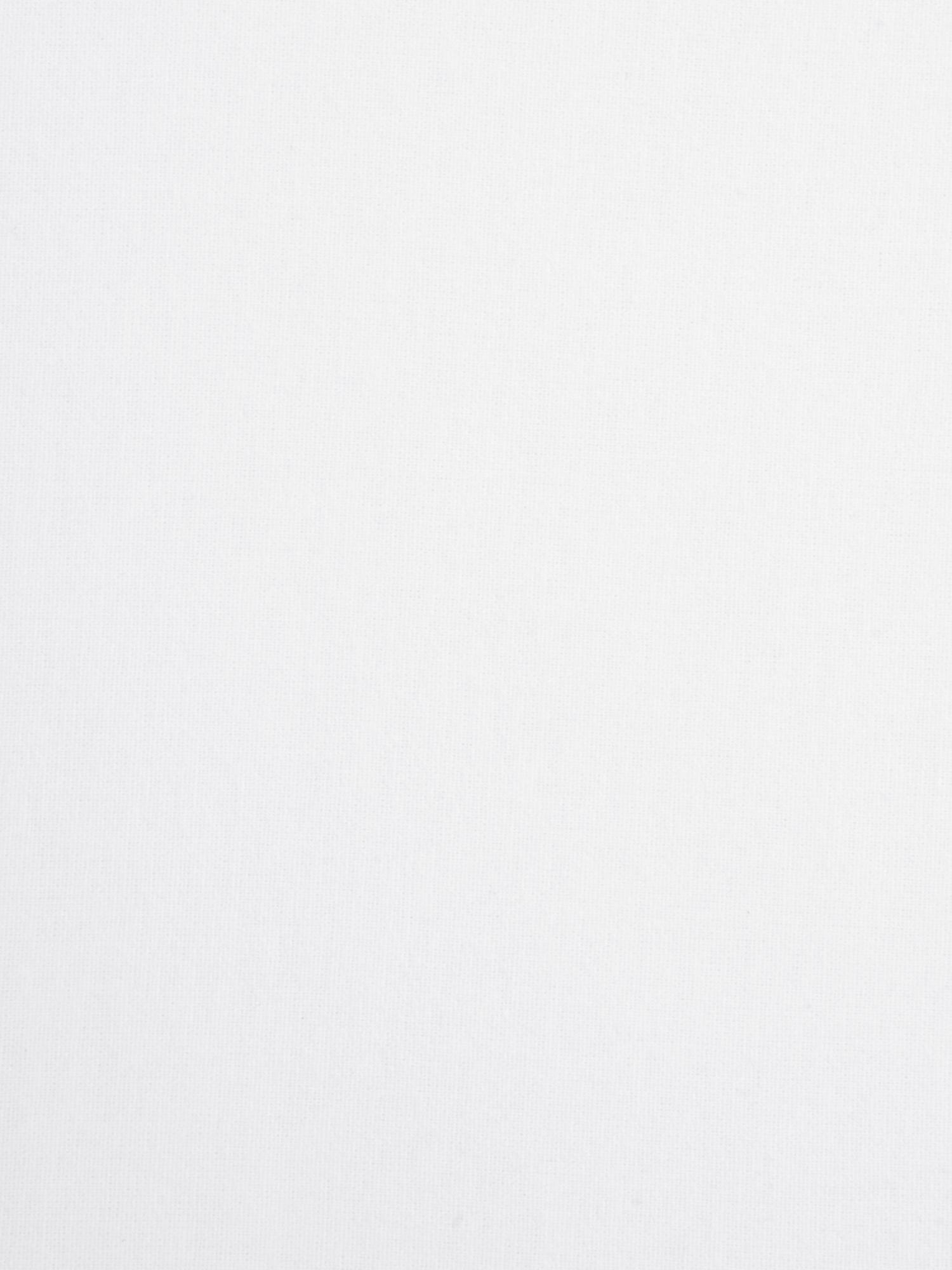 Spannbettlaken Biba in Weiß, Flanell, Webart: Flanell, Weiß, 180 x 200 cm
