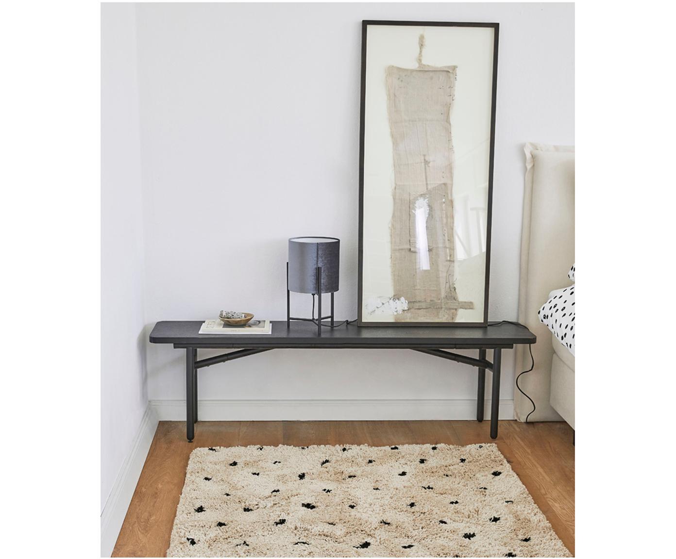 Ręcznie tuftowany dywan Ayana, Beżowy, czarny, S 160 x D 230 cm
