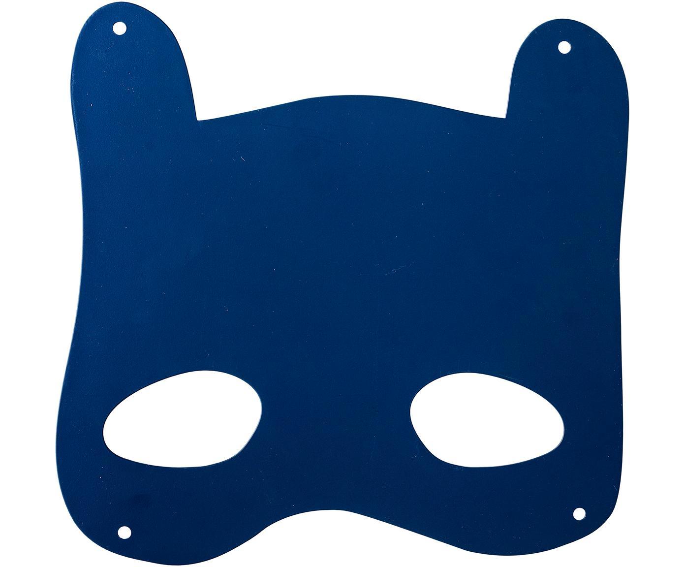 Lavagnetta magnetica da parete Mask, Metallo rivestito, Blu, Larg. 33 x Alt. 31 cm