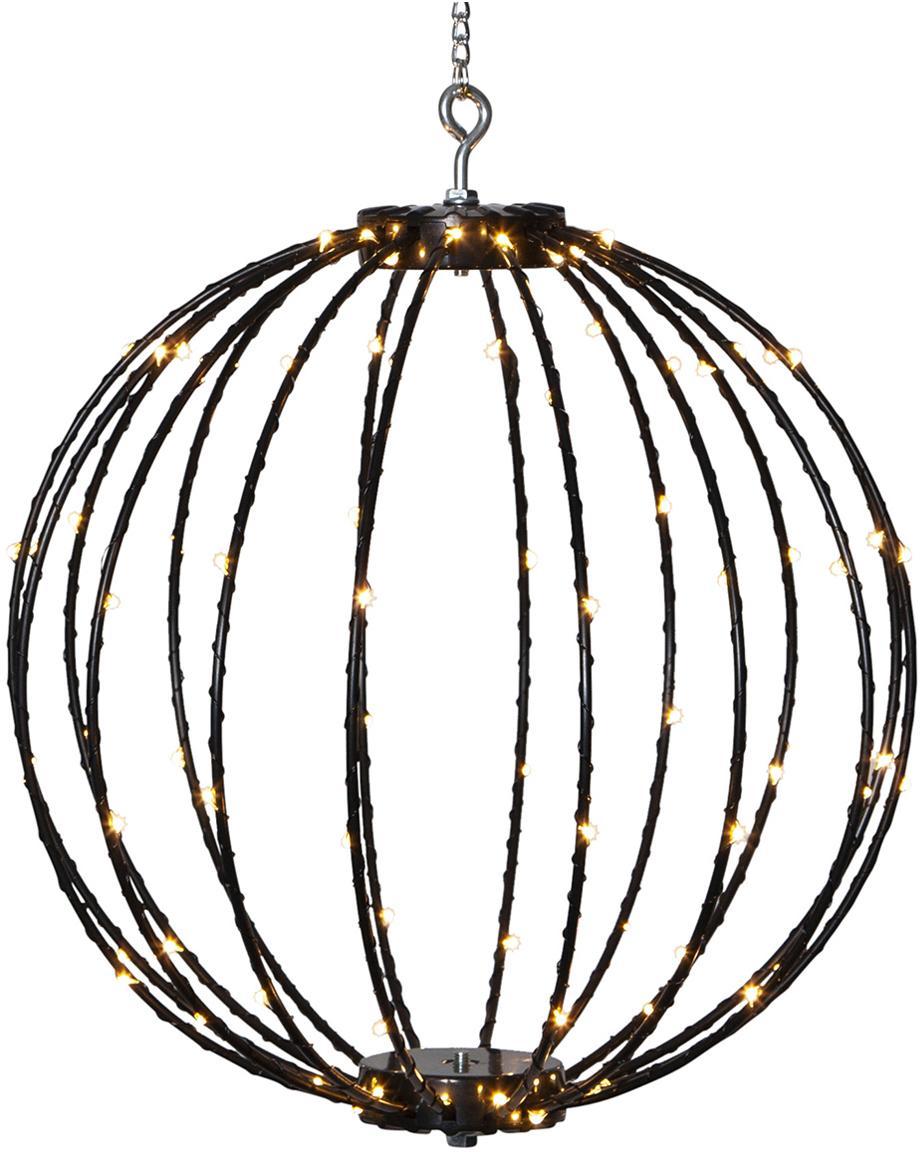 Outdoor LED lamp Mounty, Kunststof, metaal, Zwart, Ø 30 x H 30 cm