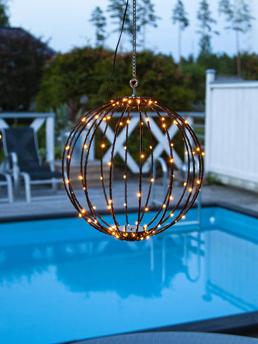 Lampe d'extérieur LED Mounty, Noir