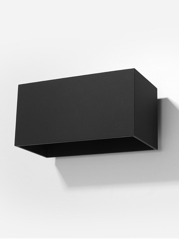 Applique en métal Geo Maxi, Noir