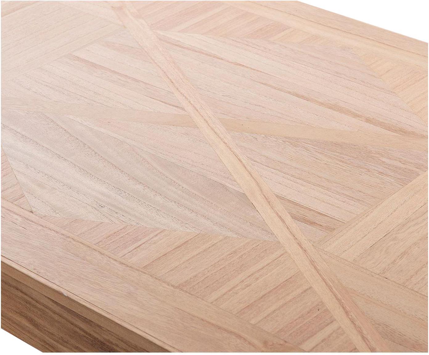 Mesa de centro Nick, Tablero: fibras de densidad media , Beige, An 120 x F 75 cm