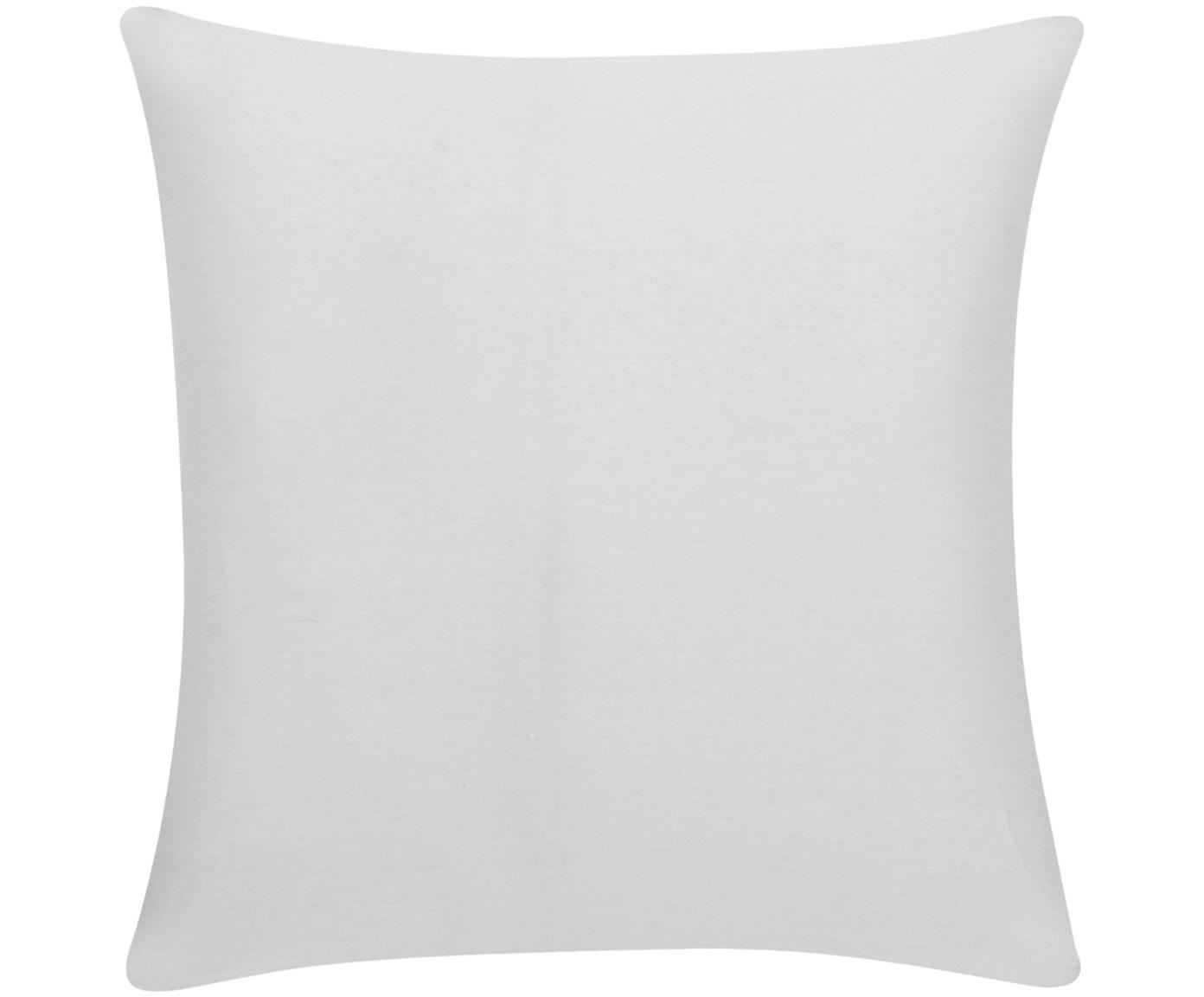Poszewka na poduszkę z bawełny Mads, 100% bawełna, Jasny szary, S 40 x D 40 cm