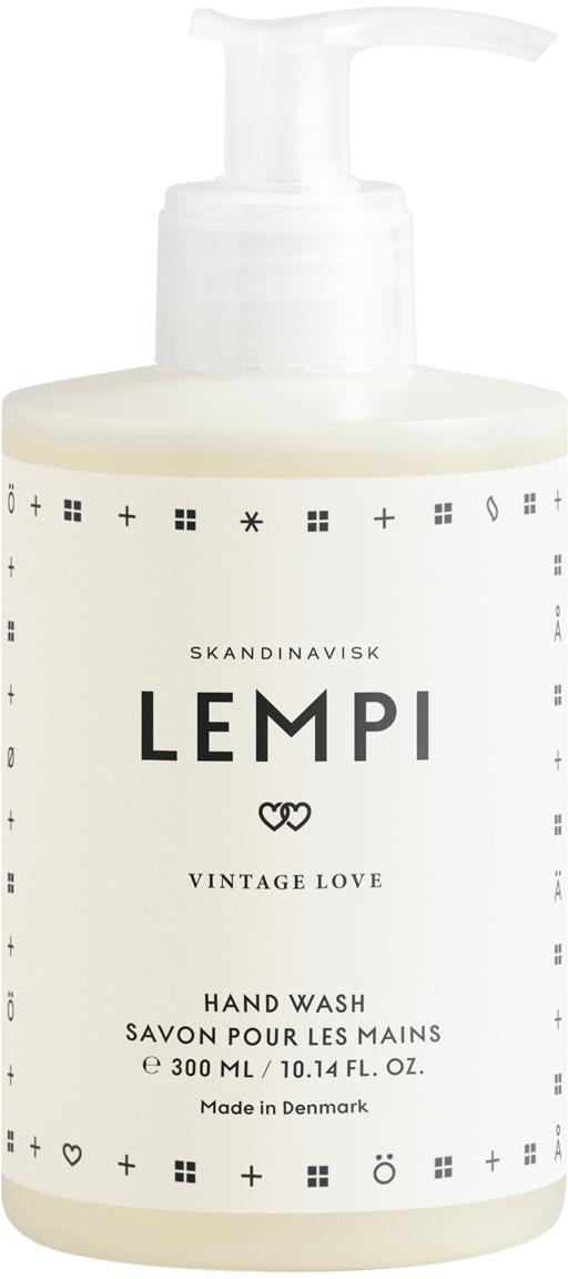 Flüssige Handseife Lempi (Rose), Behälter: Kunststoff, Weiss, 300 ml