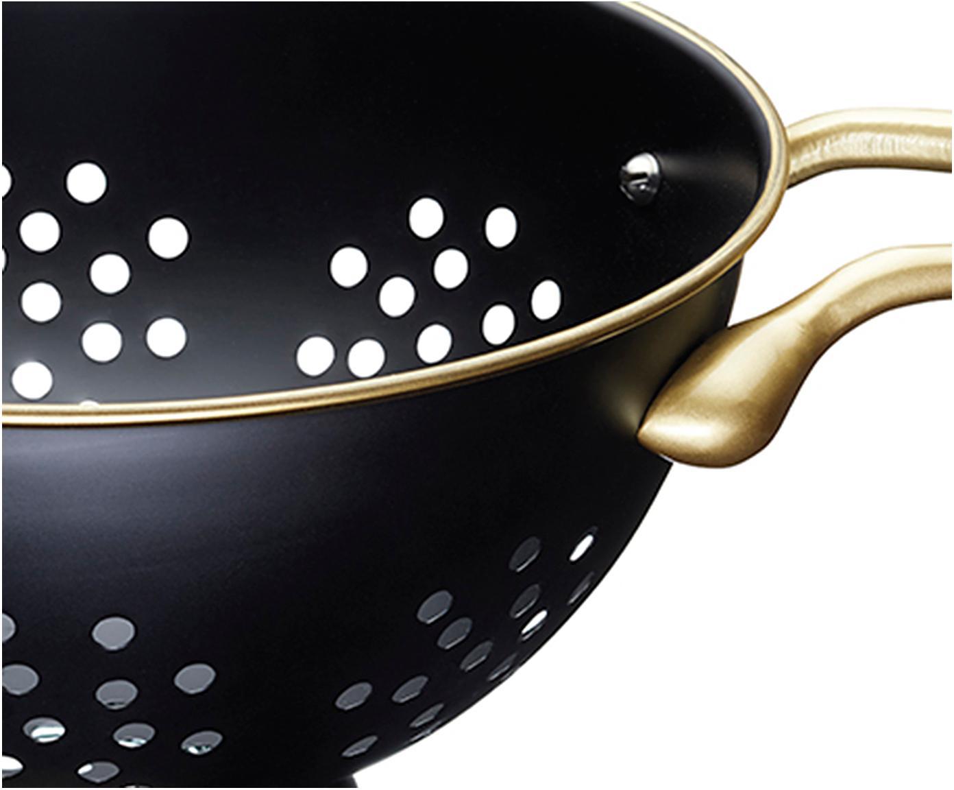 Sito MasterClass, Mosiądz powlekany, Czarny, mosiądz, Ø 26 x W 15 cm